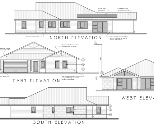Kapiti Coast Property for sale - Elevation Plans